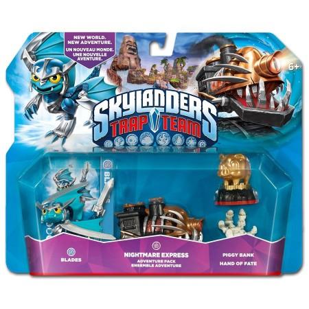 Skylanders Trap Team - Adventure Pack (Nightmare express + Blades + Pigy bank + Hand of fate) (020894)