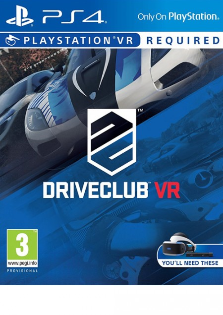 PS4 Driveclub VR (VR required) (028513)