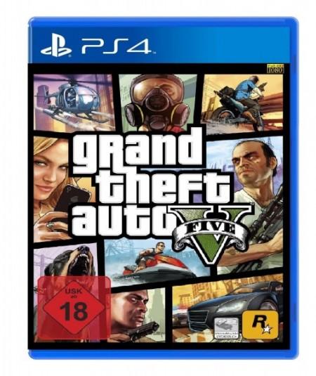 PS4 Grand Theft Auto 5 (020427)
