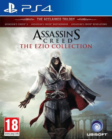 PS4 Assassin's Creed Ezio Collection (Assassin's Creed 2+Brotherhood+Revelations) (027124)