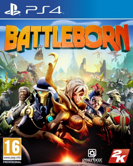 PS4 Battleborn (023587)