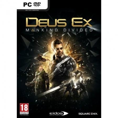 PC Deus Ex: Mankind Divided + Mini Adam figurine (026874)
