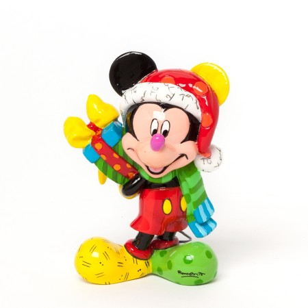 Mickey Mouse with Present Mini Figurine (022506)