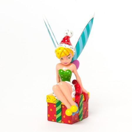 Tinker Bell Sitting on Present Mini Figurine (022508)