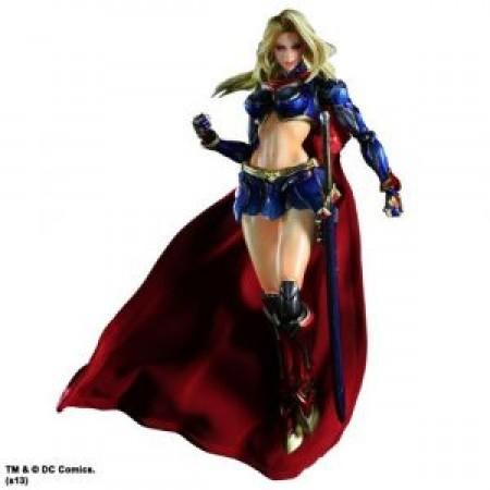 Dc Comics Variant Play Arts Kai -Supergirl- (022153)