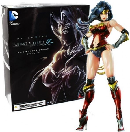 DC COMICS VARIANT PLAY ARTS KAI -Wonder Woman- (020194)