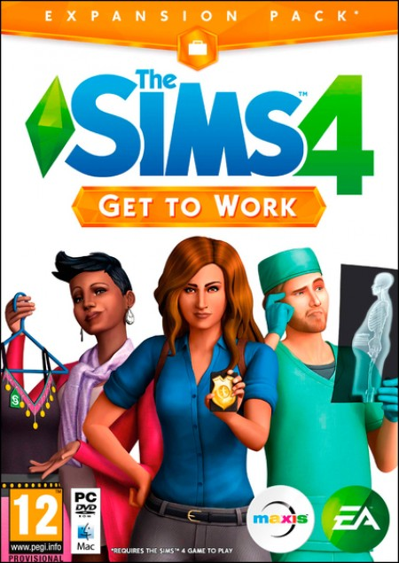 PC The Sims 4 Get to Work (023259)