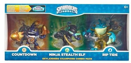 Skylanders Imaginators Triple Pack 3 (Countdown/Stealth Elf/Rip Tide) (026617)
