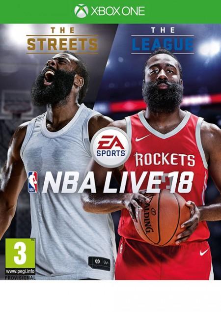 XBOXONE NBA LIVE 18: The One Edition (028988)