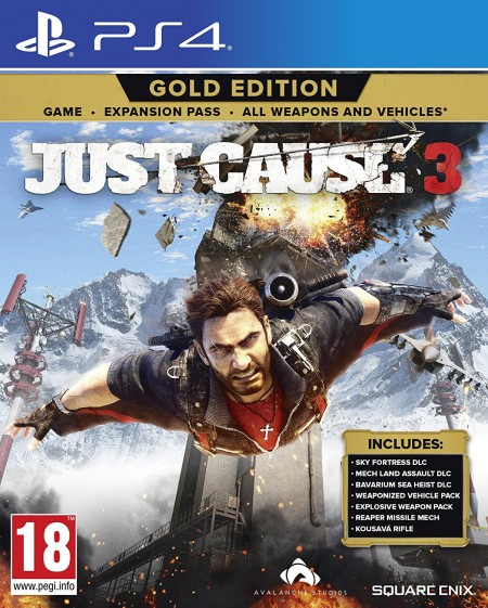 PS4 Just Cause 3 Gold Edition (027689)
