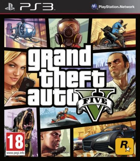 PS3 Grand Theft Auto 5 (015180)