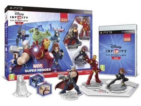 PS3 Infinity 2.0 Marvel SH Starter Pack + 2 Power Discs 2.0 (028322)