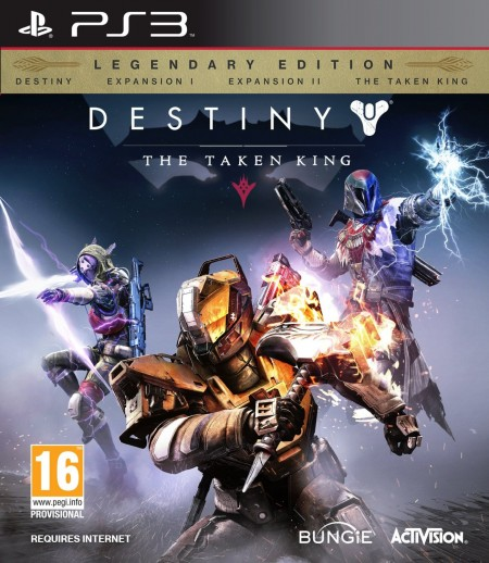 PS3 Destiny The Taken King Legendary Edition (023704)