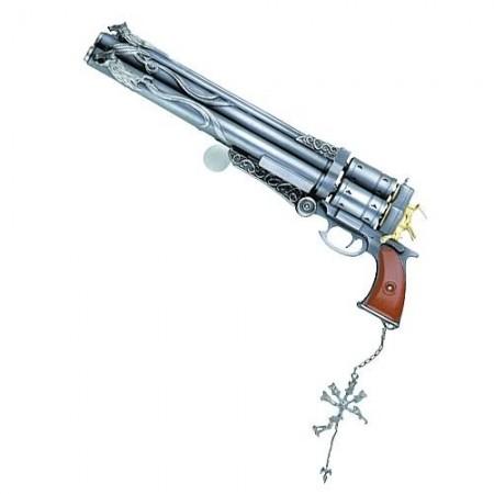 Final Fantasy VIII Master Arms Metal Replica Cerberus (009668)