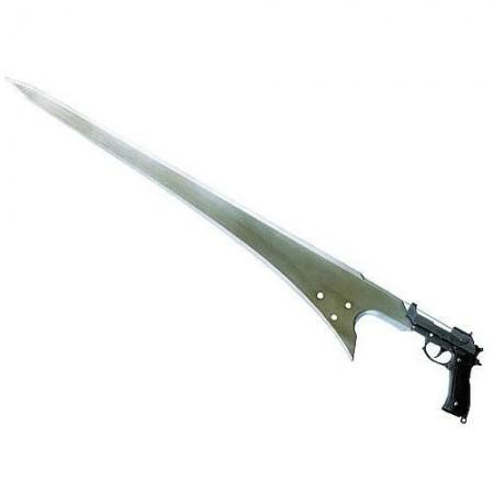 Final Fantasy VIII Master Arms Metal Replica Seifer's Gunblade (009667)