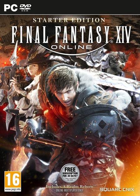 PC Final Fantasy XIV Online Starter Pack (011853)