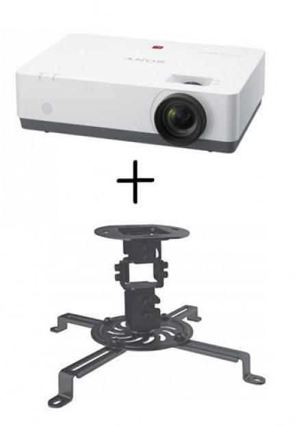 PROJEKTOR SONY VPL-EW435WXGA 3100 ANSI+nosač