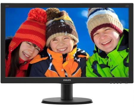 PHILIPS_ 23.8 V-line 240V5QDSB/00 LED monitor