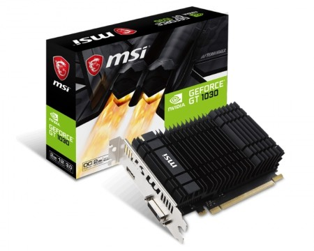 MSI nVidia GeForce GT 1030 2GB 64bit GT 1030 2GH OC