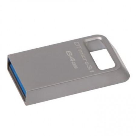 Memorija 64GB Data Traveler Micro USB 3.13.0 Type A Metal black