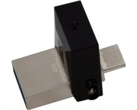 KINGSTON 32GB DataTraveler MicroDuo USB 3.0/USB OTG flash DTDUO3/32GB crni