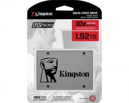 KINGSTON 1920GB 2.5 SATA III SUV5001920G SSDNow UV500 series