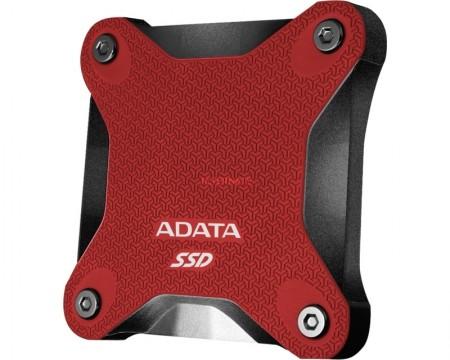 A-DATA 240GB ASD600Q-240GU31-CRD crveni eksterni SSD