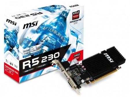 VGA PCIe MSI R5 230 1GD3H