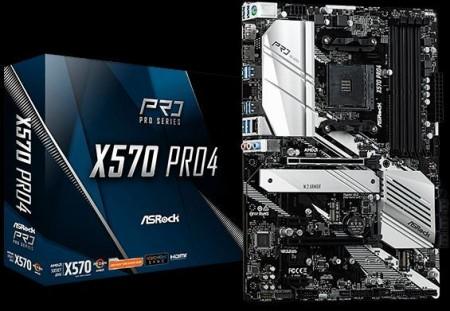 MBO AsRock AM4 X570 PRO4