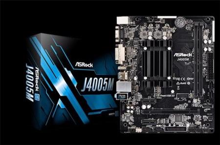 MBO + CPU AsRock J4005M