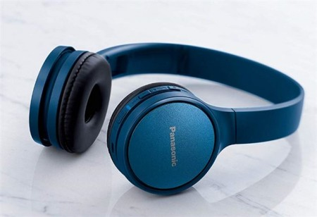 PANASONIC slušalice RP-HF410BE-A plave, High-quality