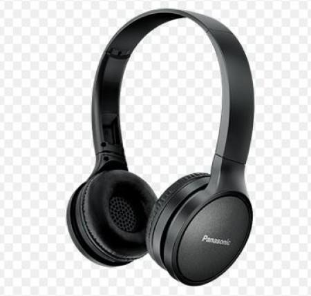 PANASONIC slušalice RP-HF410BE-K crne, High-quality