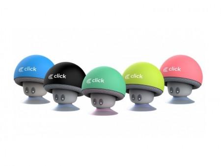 Click BS-R-M Zvucnik bluetooth Mushroom, pastelno zeleni