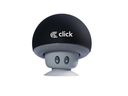 Click BS-R-M Zvucnik bluetooth Mushroom, crni
