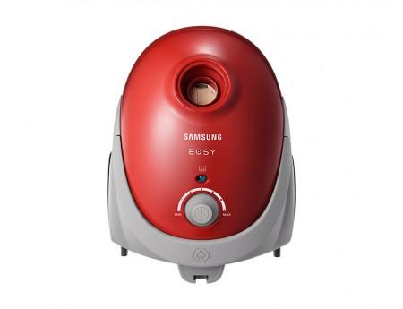 Samsung VCC52U1V3R usisivač, 750W, energetska klasa B, kesa 2.5L (10 komada), 82dBA, crveni