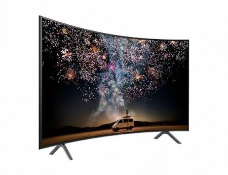 Samsung 55RU7372 Curved\UHD\Smart\WiFi\PurColor\Quad Core processor\2Ch 20W audio\DVB-T2CS2