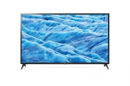 LG 70UM7100PLB LED TV 70 Ultra HD, WebOS ThinQ AI, Ceramic Black, Two pole stand