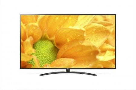 LG 70UM7450PLA LED TV 70 Ultra HD, WebOS ThinQ AI, Ceramic Black, Crescent stand, Magic remote