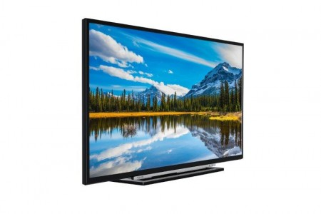 Toshiba 43L3863DG LED TV 43 Full HD, SMART, T2, blackgray, frame stand