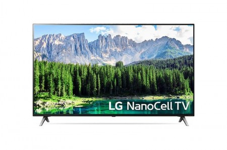 LG 55SM8500PLA LED TV 55 NanoCell UHD, WebOS ThinQ AI, Cinema screen, Two pole stand, Magic remote