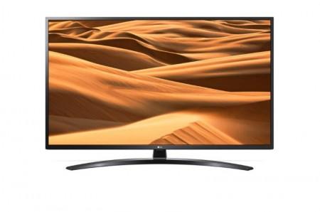 LG 65UM7450PLA LED TV 65 Ultra HD, WebOS ThinQ AI, Ceramic Black, Crescent stand, Magic remote