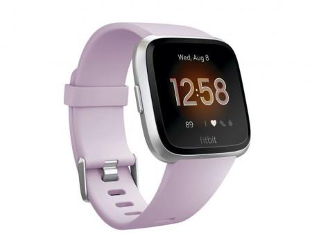 Fitbit Versa Lite, SilverLavander (Lilac)