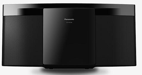PANASONIC CDUSB Micro System SC-HC195EG-K, slim, crni -mikro sistem