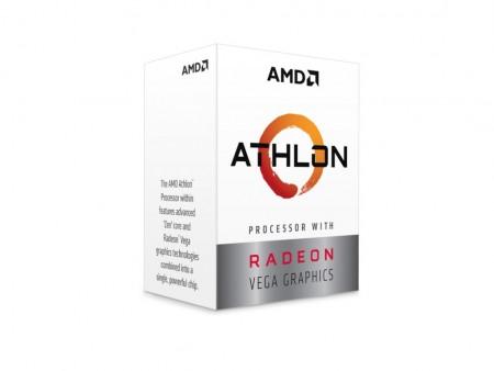 AMD CPU Desktop 2C4T Athlon 200GE (3.2GHz 5MB 35W AM4) box