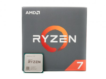 CPU AM4 AMD Ryzen 7 2700 8 cores 3.2GHz