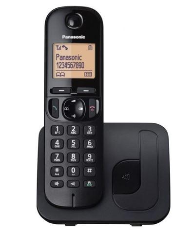 PANASONIC telefon KX-TGC210FXB crni