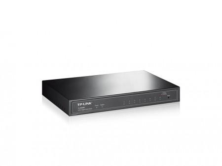 T1500G-8T(TL-SG2008) 8-port Pure-Gigabit Desktop Smart Switch, 8 101001000Mbps RJ45 ports