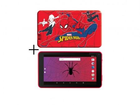 eSTAR Themed Tablet Spider Man 7 ARM A7 QC 1.2GHz1GB8GB0.3MPWiFiAndroid 7.1Redpoklon Futrola