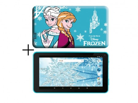 eSTAR Themed Tablet Frozen 7 ARM A7 QC 1.2GHz1GB8GB0.3MPWiFiAndroid 7.1BlueFrozen Futrola