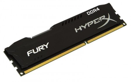 Kingston DIMM DDR4 4GB 2400MHz HX424C15FB4 HyperX Fury Black